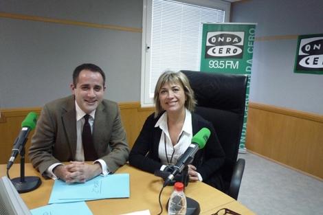 Esperanza Aguirre y Julio Otero 1